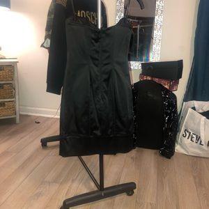 bebe Dresses - Strapless black mini dress